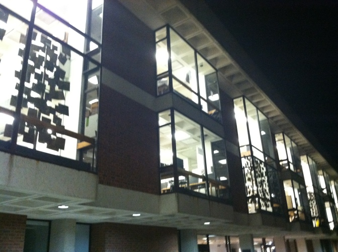 Outside view of the A-School