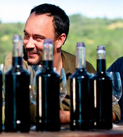 Blenheim's owner, Dave Matthews, at the vineyard (photo: winetimes.com)