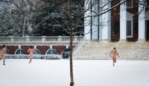 Streakers in the snow (image source: readthehook.com)